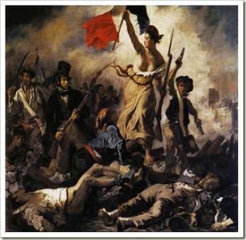 Delacroix, Eugene Liberty Leading The People, 1830 , Paris, Louvre