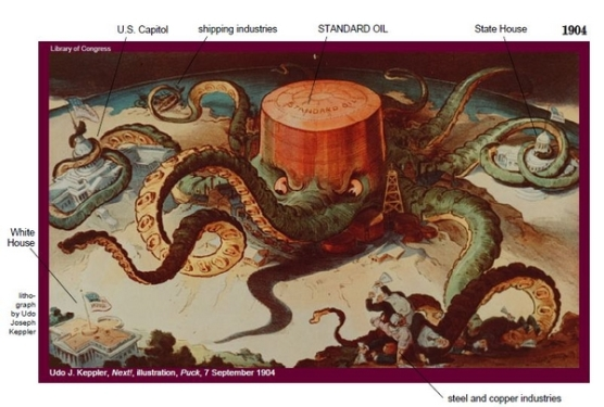 Standard Oil Cartoon