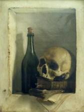 Antoine Wiertz Une tete de mort