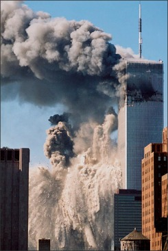 2.11.01 Collapse of WTC 2 after Terrorist Attack