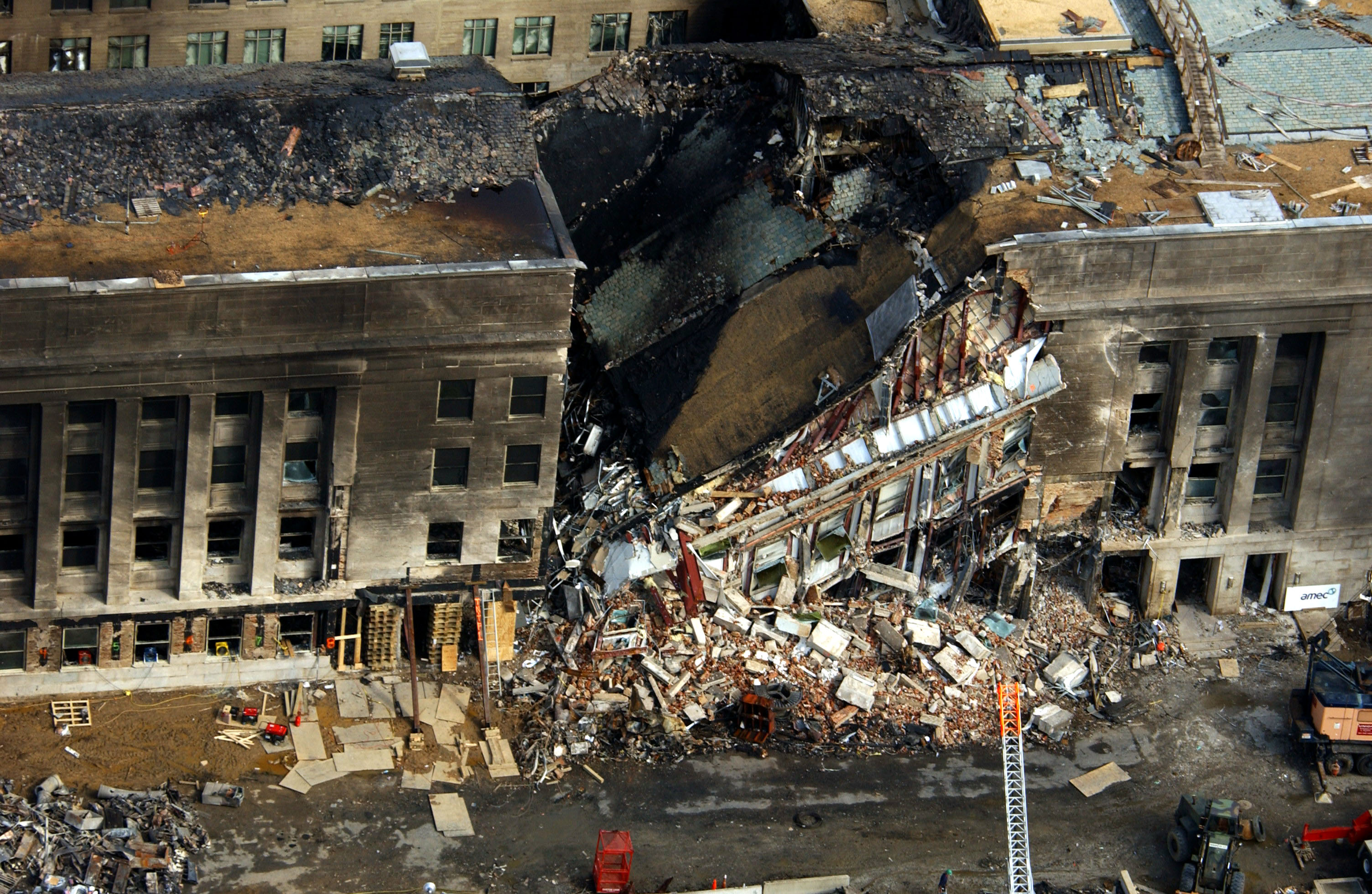 Did Boeing hit the Pentagon Building on September 11, 2001