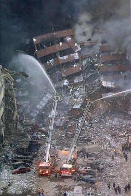 WTC 7 aftermath
