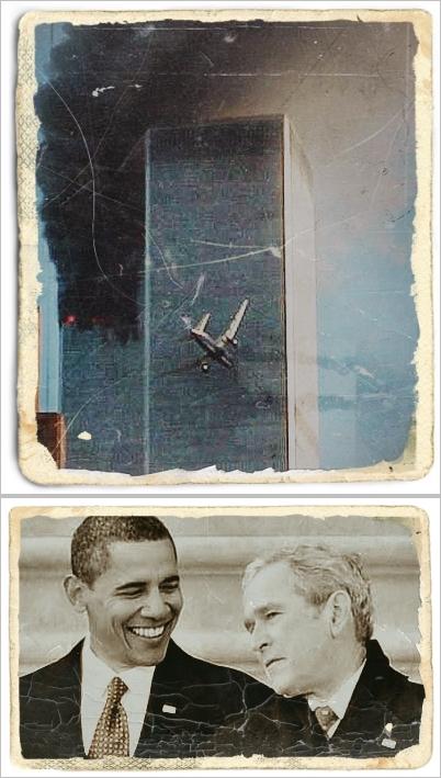 twin-towers-obama-bush