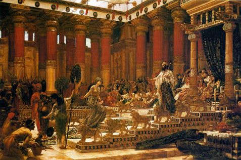 1024px-'The_Visit_of_the_Queen_of_Sheba_to_King_Solomon',_oil_on_canvas_painting_by_Edward_Poynter,_1890,_Art_Gallery_of_New_South_Wales