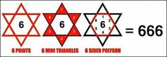 six-pointed-star666