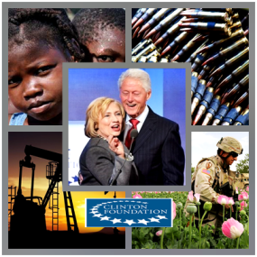 The Clinton Foundation has been under serious scrutiny of late, most especially surrounding the death of Monica Petersen who was investigating the connections between the Clinton Foundation, child sex rings and sex trafficking in Haiti. Petersen's body has not been recovered. The cause of death has not been stated. An autopsy was not performed nor has her family been notified as to the cause or circumstances of her death. The body has yet to be returned. (For more see Researcher George Webb's Youtube channel and start at video 53).